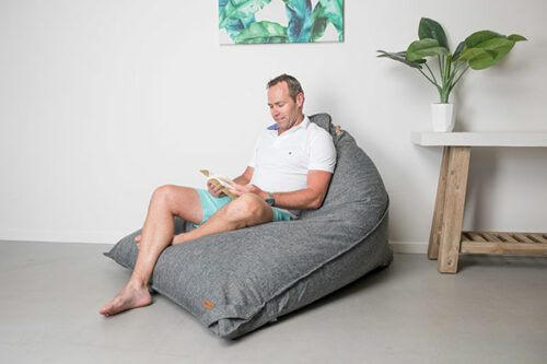 Large Triangle Bean bag | Komfort | Mooi Living