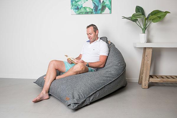 Large Triangle Bean bag | Komfort | Mooi Living