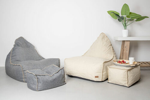 Mooi Living | Chair & Ottomon