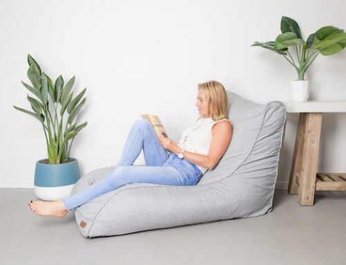 Bean Bag Chair for the Book Worm. Making your Reading Space Snug